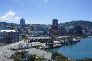 View of Wellington's waterfront