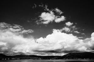Clouds a-brewing