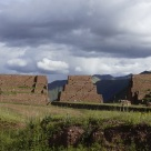 Massive gate into the Sacred Valley above Cuzco