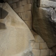 crazy stonework near a temple