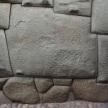 The expertly shaped 12 angle stone
