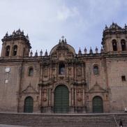 Big church on Plaza de Armes