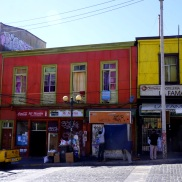 Colorful streets of Valpariso!
