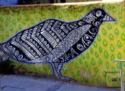 Beautiful Bird street art