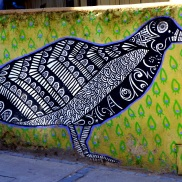 Beautiful Bird street art