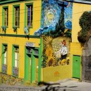 Van Gogh...with a Chilean twist.