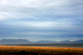 on the drive to Torres del Paine